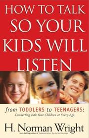 Cover of: How to Talk So Your Kids Will Listen