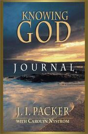 Cover of: Knowing God Journal