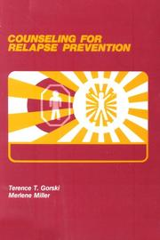 Cover of: Counseling for Relapse Prevention