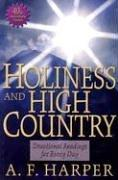 Cover of: Holiness and High Country