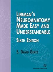Cover of: Liebman's Neuroanatomy Made Easy and Understandable
