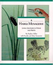 Cover of: Haiku Menagerie