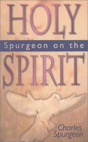 Cover of: Spurgeon on the Holy Spirit