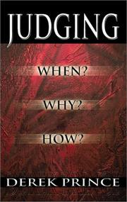 Cover of: Judging: When? Why? How?