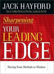 Cover of: Sharpening Your Leading Edge