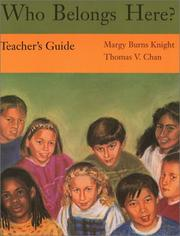 Cover of: Who Belongs Here? (Teachers Guide)