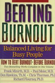 Cover of: Beating Burnout : Balanced Living for Busy People
