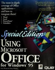 Cover of: Using Microsoft Office for Windows 95