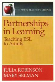 Cover of: Partnerships in Learning