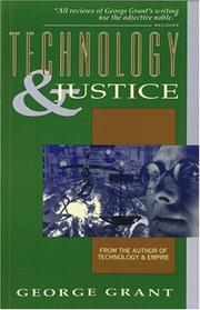 Cover of: Technology and Justice