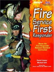 Cover of: Fire Service First Responder