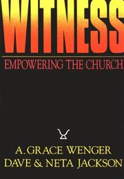Cover of: Witness: Empowering the Church Through Worship, Community, and Mission