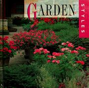 Cover of: Garden styles