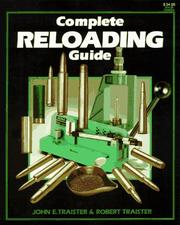 Cover of: Complete reloading guide
