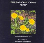 Cover of: Edible Garden Weeds of Canada (Canada's Edible Wild Plants)