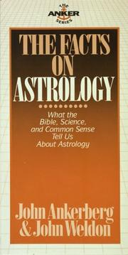 Cover of: The Facts on Astrology