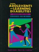 Cover of: Teaching Adolescents With Learning Disabilities