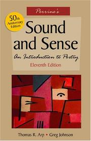 Cover of: Perrine's Sound and Sense