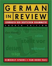 Cover of: German in Review