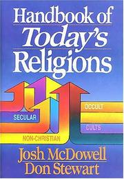 Cover of: Handbook of Today's Religions