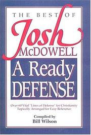 Cover of: A Ready Defense The Best Of Josh Mcdowell