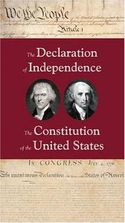Cover of: Heritage Pocket Guide to the Declaration of Independence and the Constitution of the United States