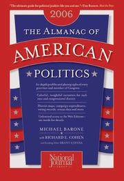 Cover of: The Almanac of American Politics, 2006 (Almanac of American Politics)