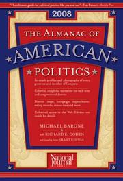 Cover of: The Almanac of American Politics, 2008 (Almanac of American Politics)