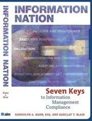 Cover of: Information Nation