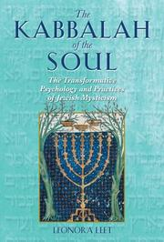 Cover of: The Kabbalah of the Soul