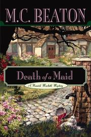 Cover of: Death of a maid