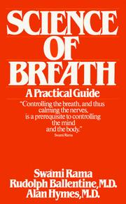 Cover of: Science of Breath