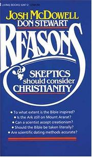 Cover of: Reasons