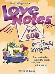 Cover of: Love Notes from God for Busy Moms (Love Notes from God)