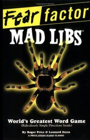 Cover of: Fear Factor Mad Libs