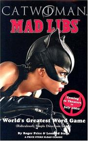 Cover of: Catwoman Mad Libs