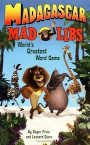 Cover of: Madagascar Mad Libs (Mad Libs (Unnumbered Paperback))