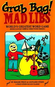 Cover of: Grab bag mad libs (Mad Libs)