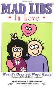 Cover of: Mad Libs in Love (Mad Libs)