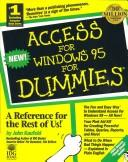 Cover of: Access for Windows 95 for dummies