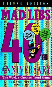 Cover of: Mad libs 40th (Mad Libs)