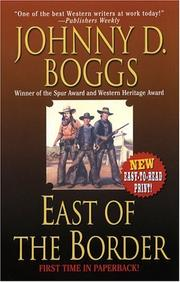 Cover of: East of the Border