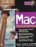 Cover of: Foundations of Mac programming