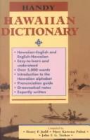 Cover of: Handy Hawaiian dictionary
