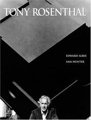 Cover of: Tony Rosenthal