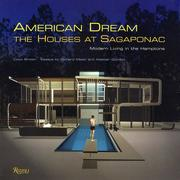 Cover of: American Dream: The Houses at Sagaponac