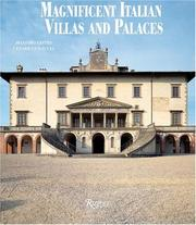 Cover of: Magnificent Italian Villas and Palaces