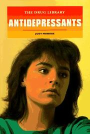 Cover of: Antidepressants (Drug Library)