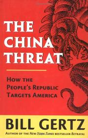 Cover of: The China threat
