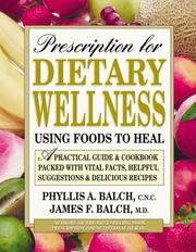 Cover of: Prescription for Dietary Wellness